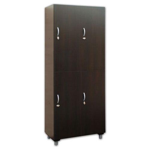 armadietto legno 4 ante